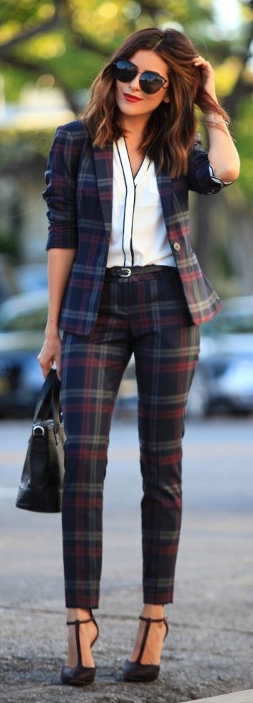 plaid-suit